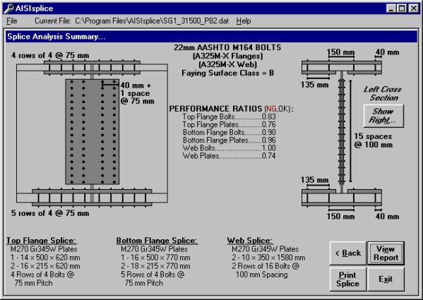 AISIsplice Software Manual